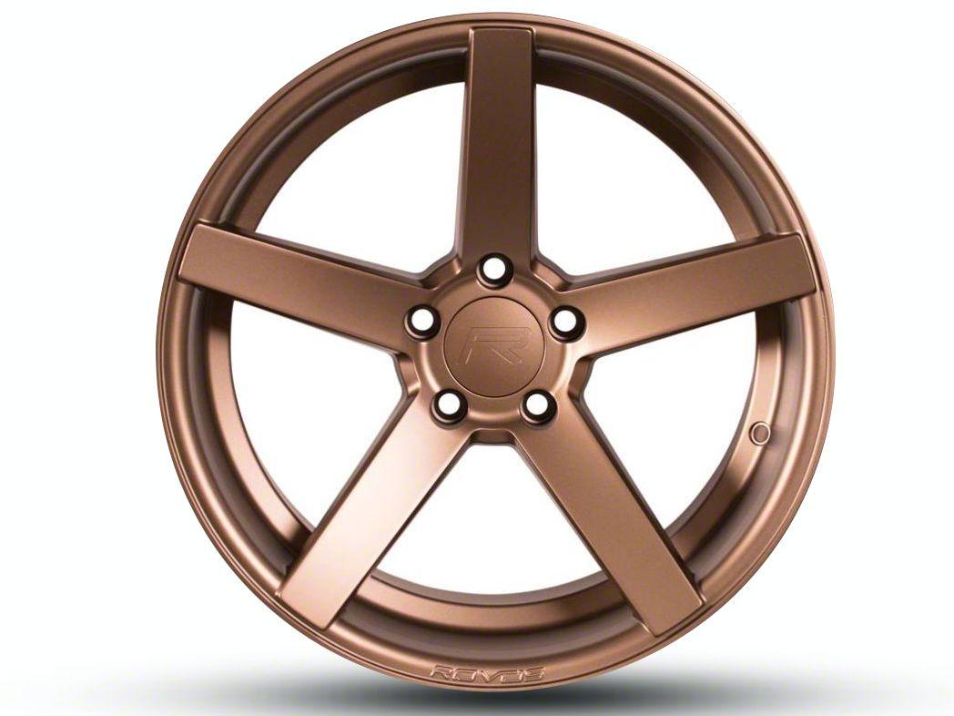 Rovos Staggered Durban Satin Bronze Wheel & Nitto INVO Tire Kit - 18x9/10.5 (94-04 All)