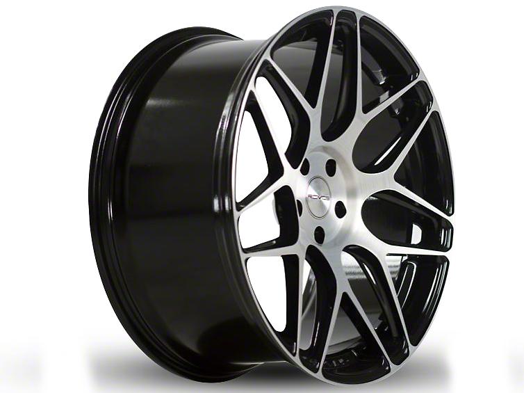 Rovos Staggered Pretoria Gloss Black Wheel & Nitto INVO Tire Kit - 18x9/10.5 (94-04 All)