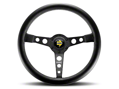MOMO USA Prototipo Heritage Steering Wheel - Black (84-17 All)