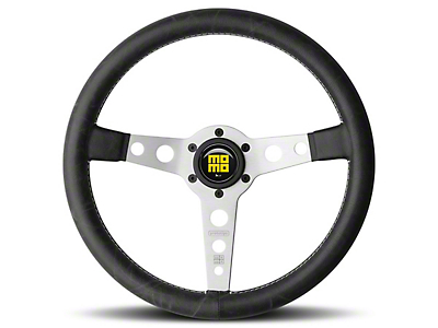 MOMO USA Prototipo Heritage Steering Wheel - Silver (84-18 All)