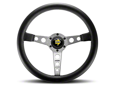 MOMO USA Prototipo Tuning Steering Wheel - Silver (84-17 All)