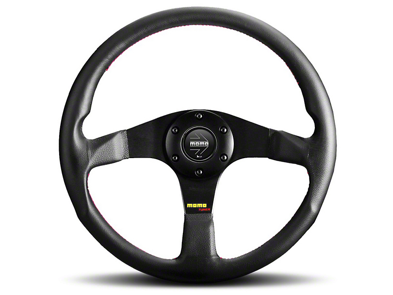 MOMO USA Tuner Steering Wheel - Leather/Anthracite (84-18 All)
