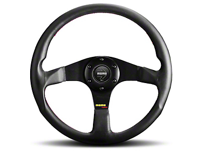 MOMO USA Tuner Steering Wheel - Leather/Anthracite (84-17 All)