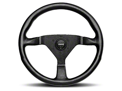MOMO USA Monte Carlo 350 Steering Wheel - Red (84-17 All)
