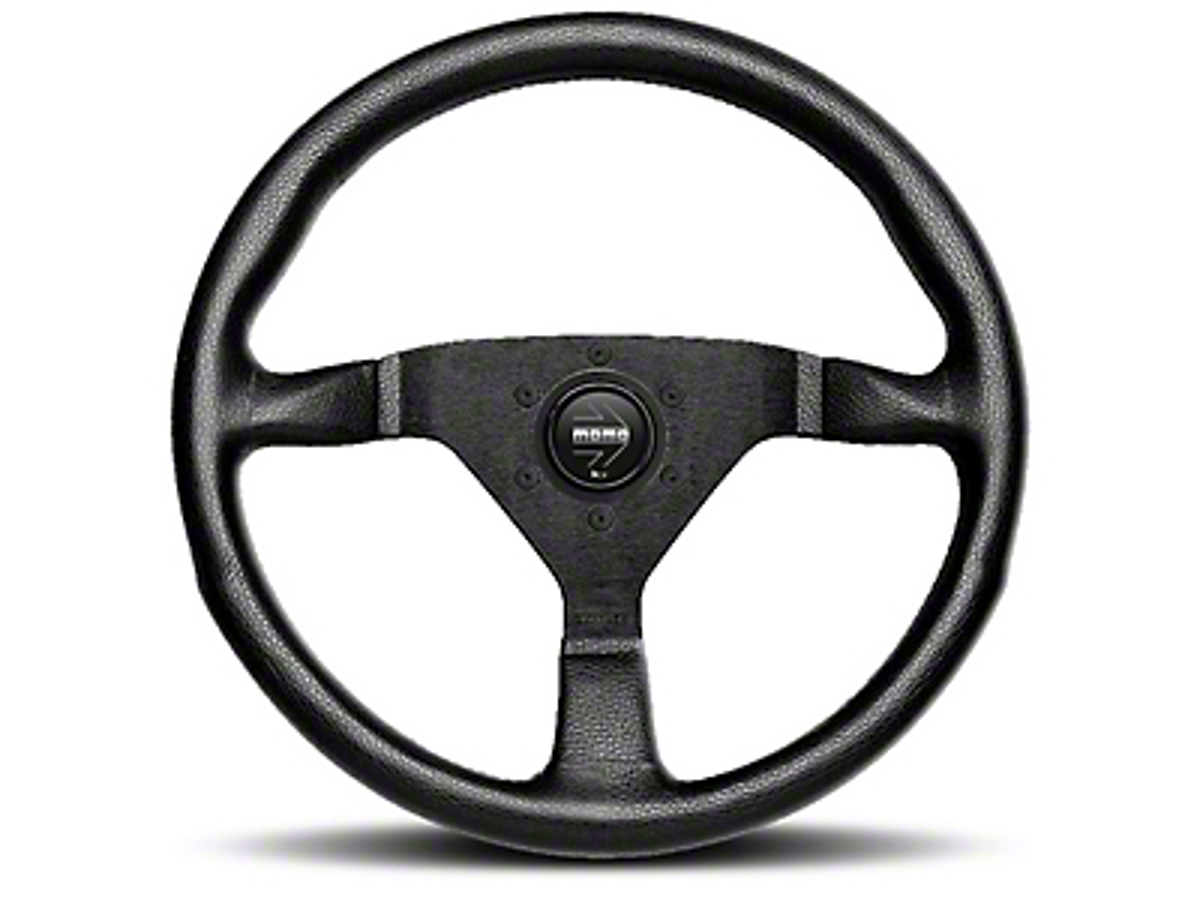 MOMO USA Monte Carlo 320 Steering Wheel - Black (84-18 All)