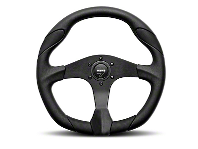 MOMO USA Quark Tuning Steering Wheel - Black (84-18 All)