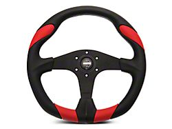 MOMO USA Quark Tuning Steering Wheel; Red (84-20 All)