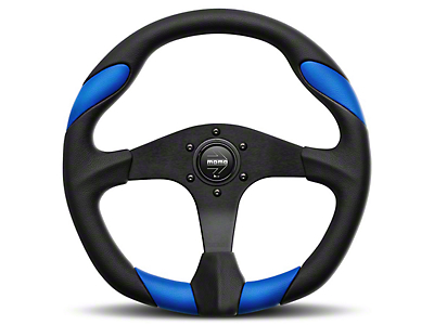 MOMO USA Quark Tuning Steering Wheel - Blue (84-18 All)