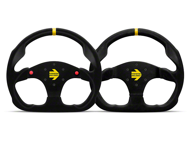 MOMO USA MOD 30 Racing Steering Wheel - Black Suede (84-18 All)