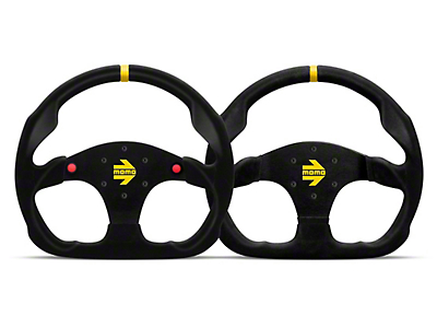 MOMO USA MOD 30 Racing Steering Wheel - Black Suede (84-17 All)