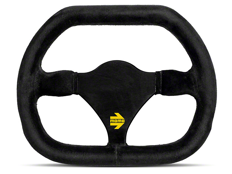 MOMO USA MOD 29 Racing Steering Wheel - Black Suede (84-18 All)