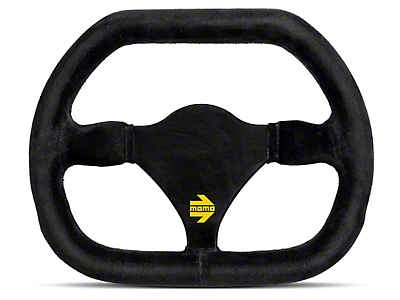 MOMO USA MOD 29 Racing Steering Wheel - Black Suede (84-17 All)
