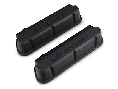 Ford Performance Slant Edge Valve Cover - Stealth Black (79-93 289, 302, 351W)