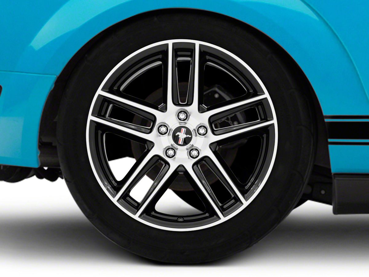 Ford Performance Boss 302S Gloss Black w/ Machined Face Wheel - 19x9 (05-09  All)