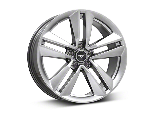 Ford Performance I4 Performance Pack Dark Stainless Wheel - 19x9 (15-18 EcoBoost, V6)