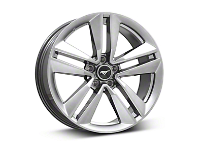 Ford Performance I4 Performance Pack Dark Stainless Wheel - 19x9 (15-17 EcoBoost, V6)