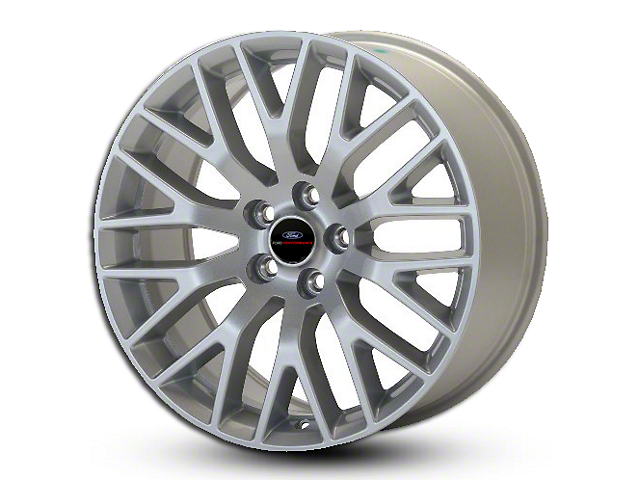 Ford Performance Performance Pack Sparkle Silver Wheel - 19x9 (15-18 GT, EcoBoost, V6)