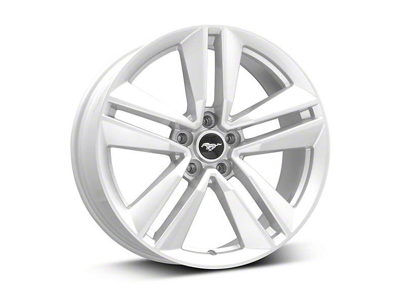 Ford Performance I4 Performance Pack Sparkle Silver Wheel - 19x9 (15-18 EcoBoost, V6)