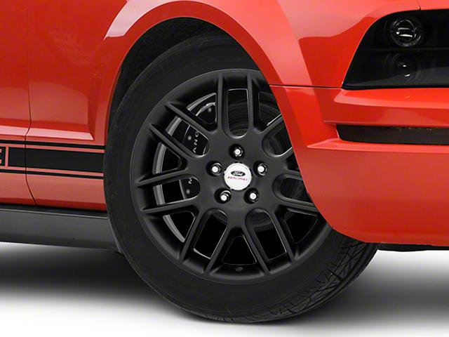 Ford Performance Mesh Spoke Matte Black Wheel; 18x8 (05-09 GT, V6)