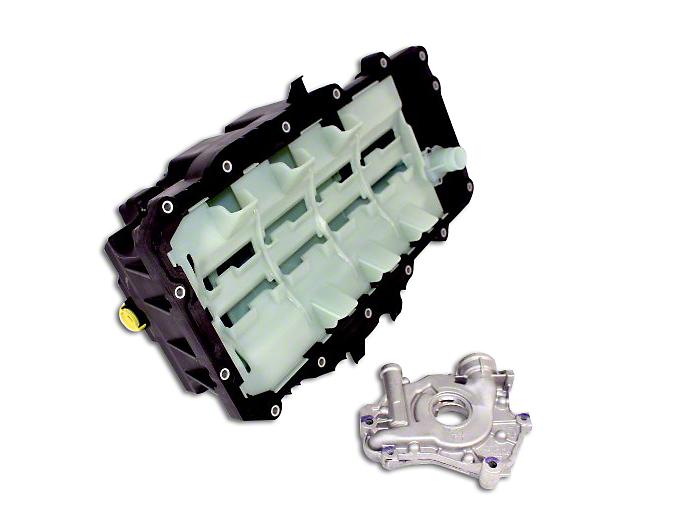 Ford Performance Oil Pan & Pump Kit (15-17 GT; 15-19 GT350)
