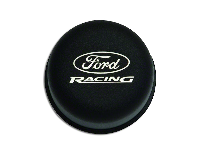 Ford Performance Black Breather Cap w/ Ford Racing Logo (79-93 289, 302, 351W)