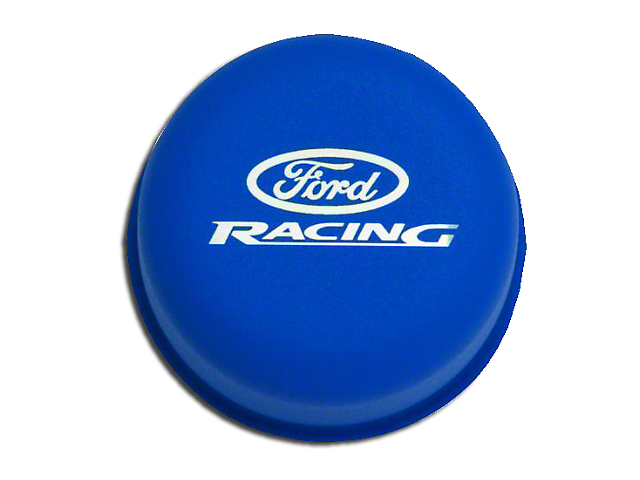 Ford Performance Blue Breather Cap w/ Ford Racing Logo (79-93 289, 302, 351W)