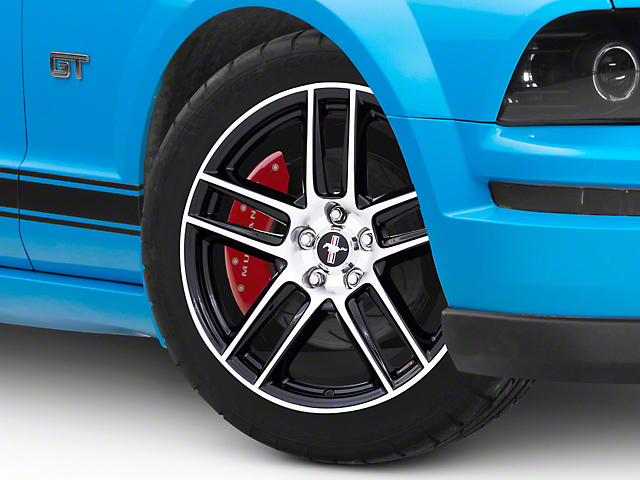 Ford Performance Boss 302S Gloss Black w/ Machined Face Wheel; 19x9 (05-09 All)