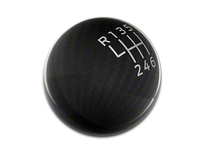 Ford Performance 6-Speed Shift Knob - Carbon Fiber (15-19 GT, EcoBoost, V6)