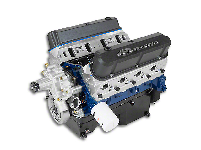 Ford Performance 363 Cubic Inch 500 HP Boss Crate Engine with Rear Sump Pan