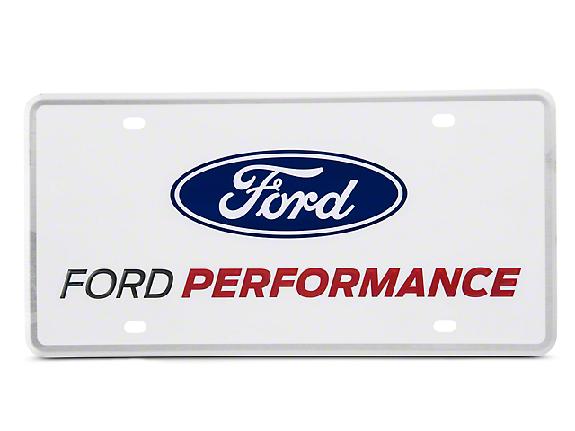 Ford Performance License Plate (79-19 All)
