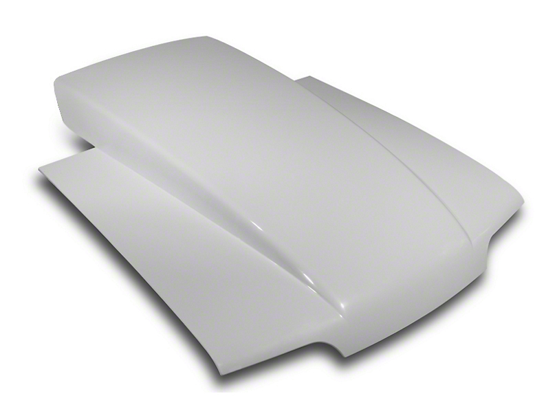 Cervini's 5.5 in. Lift Off Cowl Induction Hood - Unpainted (87-93 All)