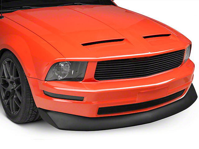 Cervini's B2 Chin Spoiler; Fine Textured Black (05-09 V6)