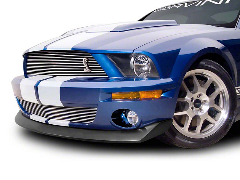 Cervini's B2 Chin Spoiler - Textured Black (07-09 GT500)