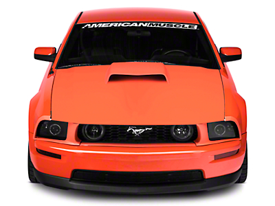 Cervini's B9 Hood Scoop - Unpainted (05-09 GT, V6)