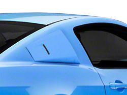 Cervini's Eleanor Style Quarter Window Louvers - Unpainted (05-14 Coupe)