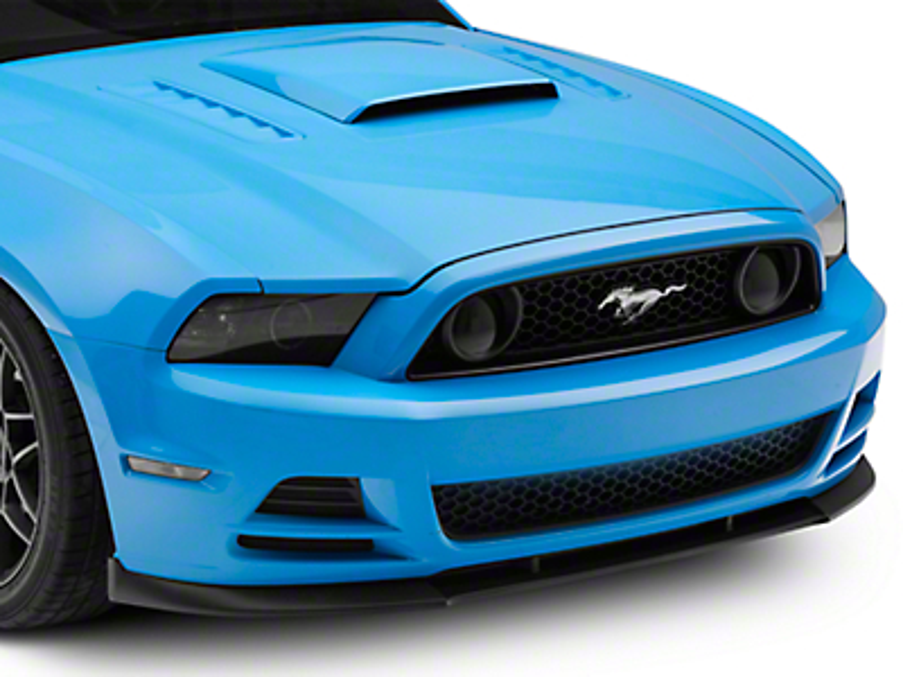 Cervini's GT500 Style Chin Spoiler - Matte Black (13-14 GT, V6)