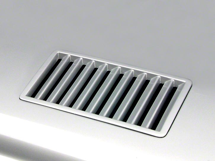 Cervini's Louver Hood Inserts - Unpainted (05-12 GT, V6)