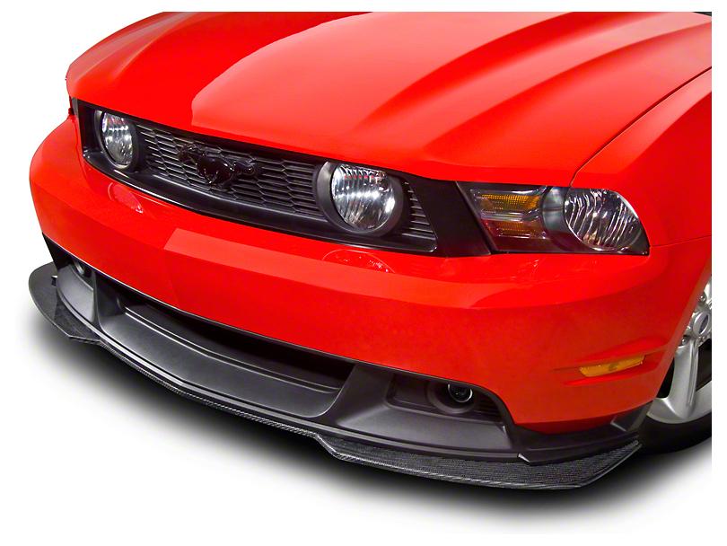 Cervini's Lower Front Splitter - Carbon Fiber (10-12 GT w/ GT/CS Valance; 2012 BOSS 302)