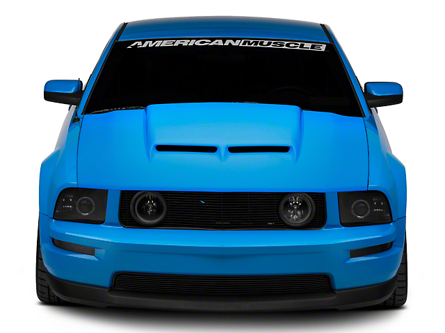 Cervini's Ram Air Hood - Unpainted (05-09 GT, V6)