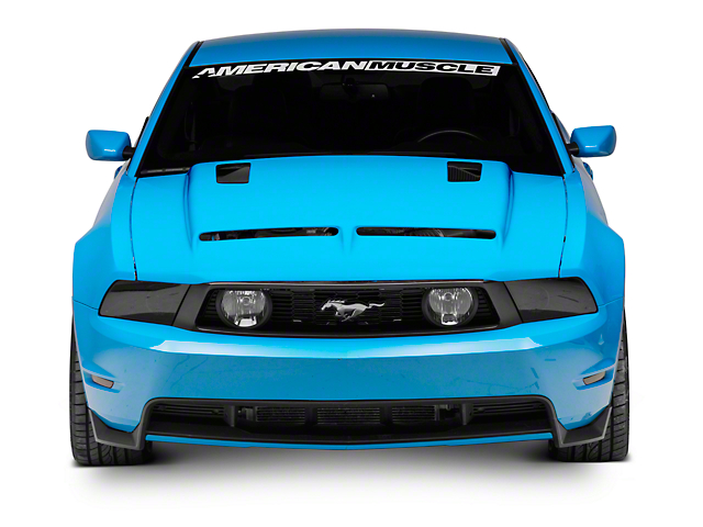 Cervini's Ram Air Hood - Unpainted (10-12 GT, V6)