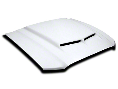 Cervini's Ram Air Hood - Unpainted (13-14 GT, V6)