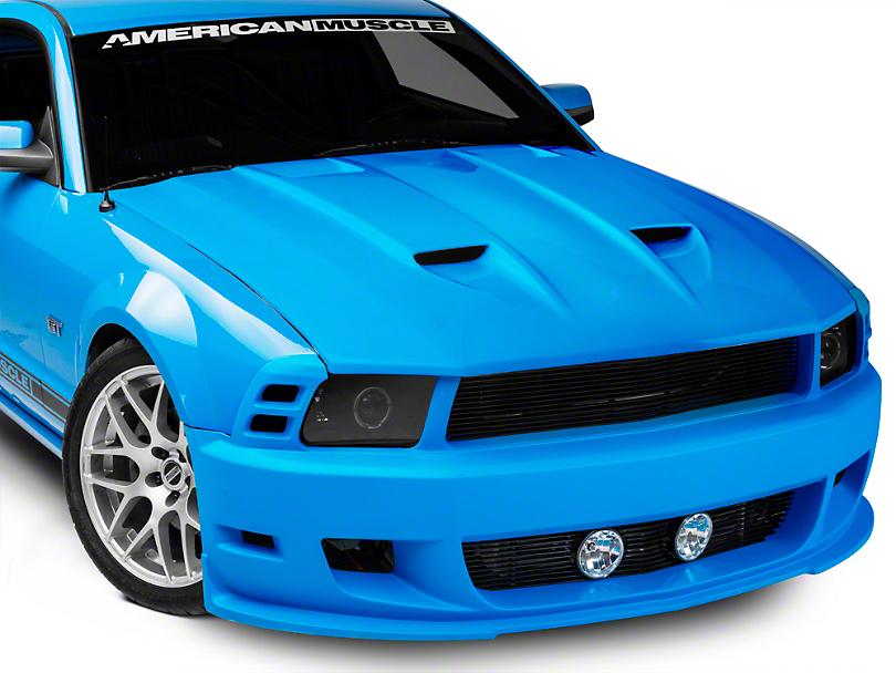 Cervini's Stalker Front Bumper & Hood Kit - Unpainted (05-09 GT, V6)