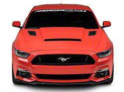 Cervini's Stalker Hood - Unpainted (15-17 GT, EcoBoost, V6)