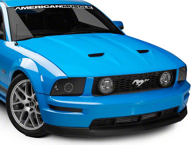 Cervini's Stalker Ram Air Hood - Unpainted (05-09 GT, V6)