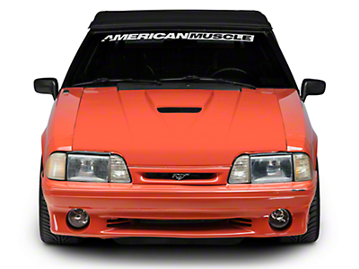 Cervini's SVO Hood - Unpainted (87-93 All)