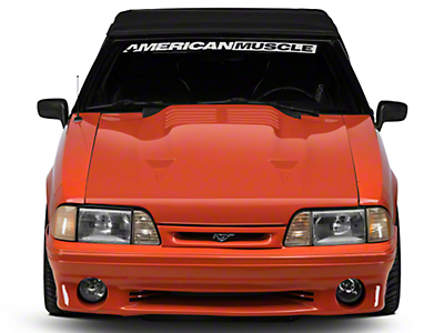 Cervini's Twin Turbo Hood - Unpainted (87-93 All)
