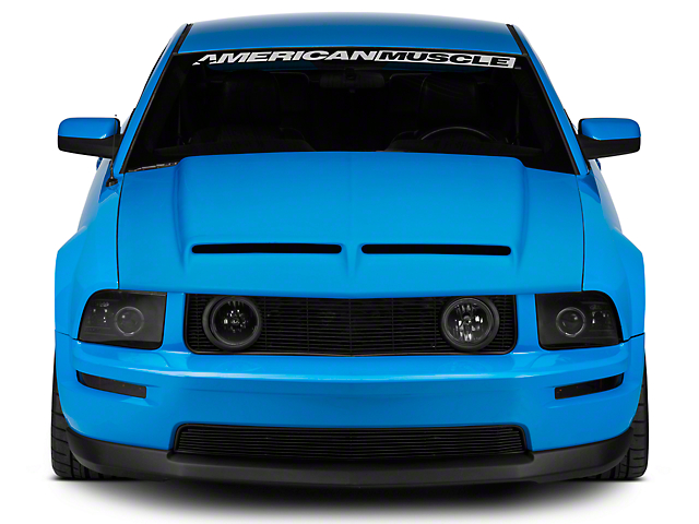 Cervini's Type IV Ram Air Hood - Unpainted (05-09 GT, V6)