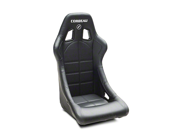 Corbeau Forza Racing Seat - Black Cloth (79-18 All)