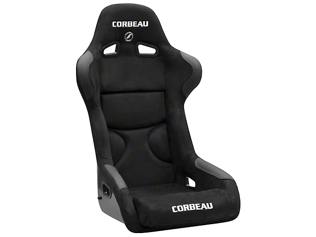 Corbeau FX1 Pro Racing Seat - Black Microsuede (79-18 All)