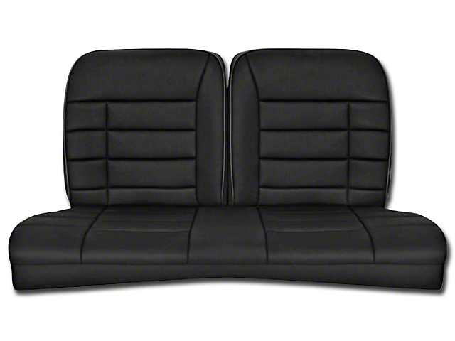 Corbeau Rear Seat Cover - Black Cloth (84-93 Hatchback)